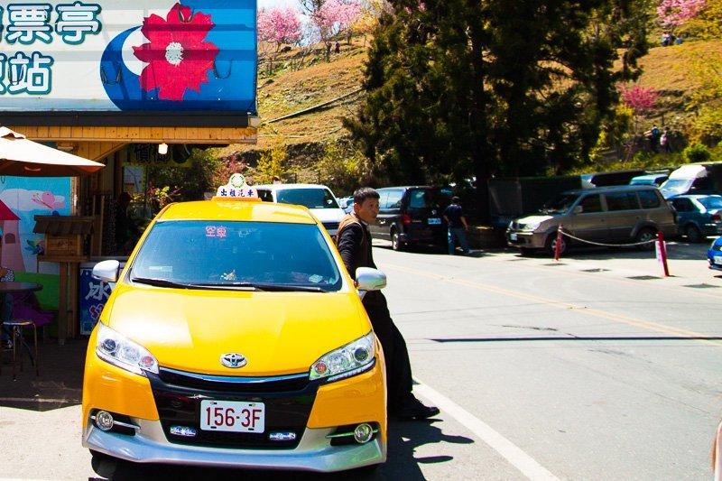 cab taxi in taiwan
