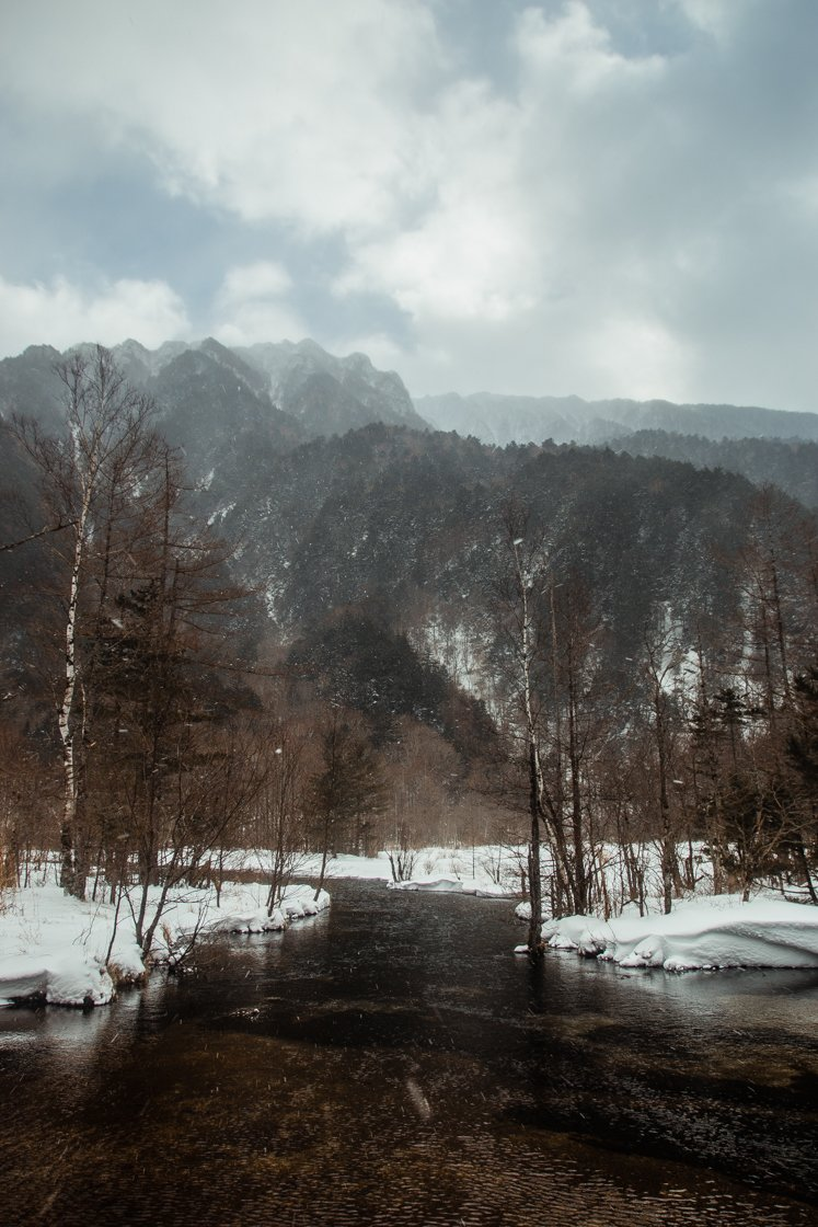 Kamikochi, Winter, Japanese Alps, Japan
