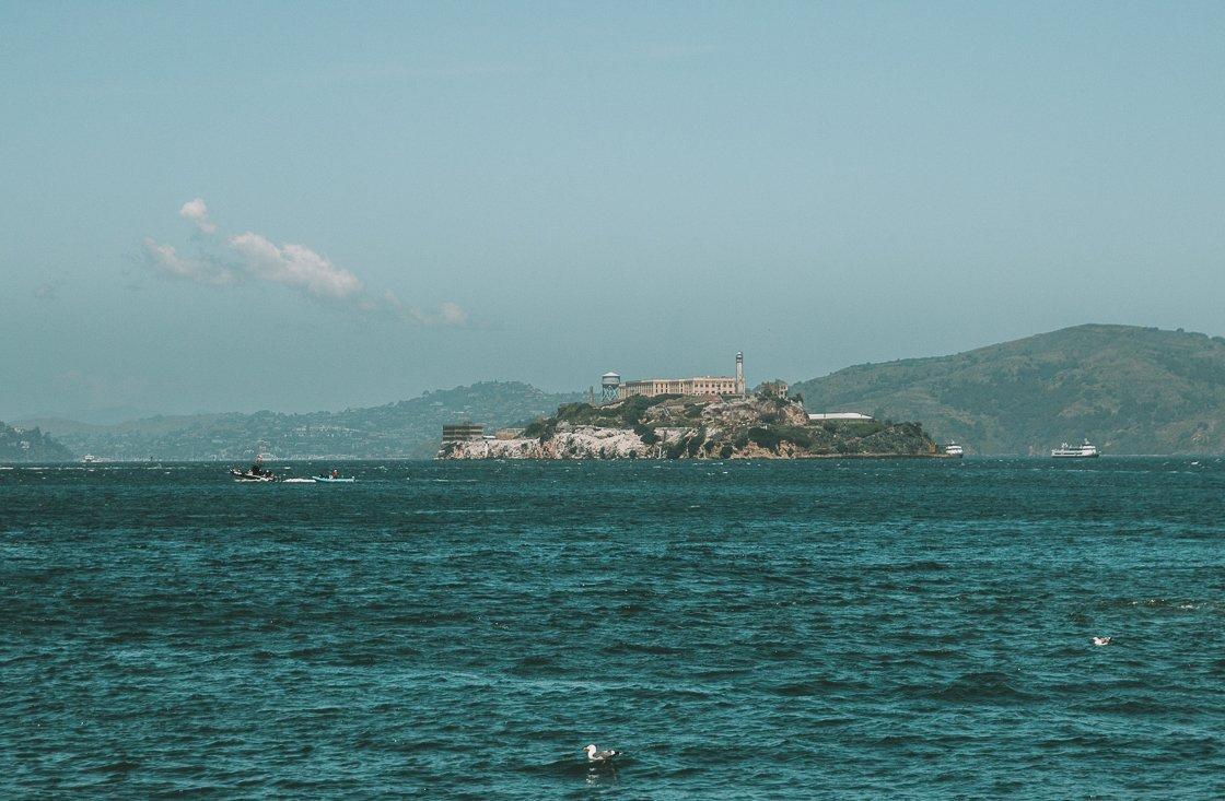 Alcatraz, San Francisco, 2-week US itinerary
