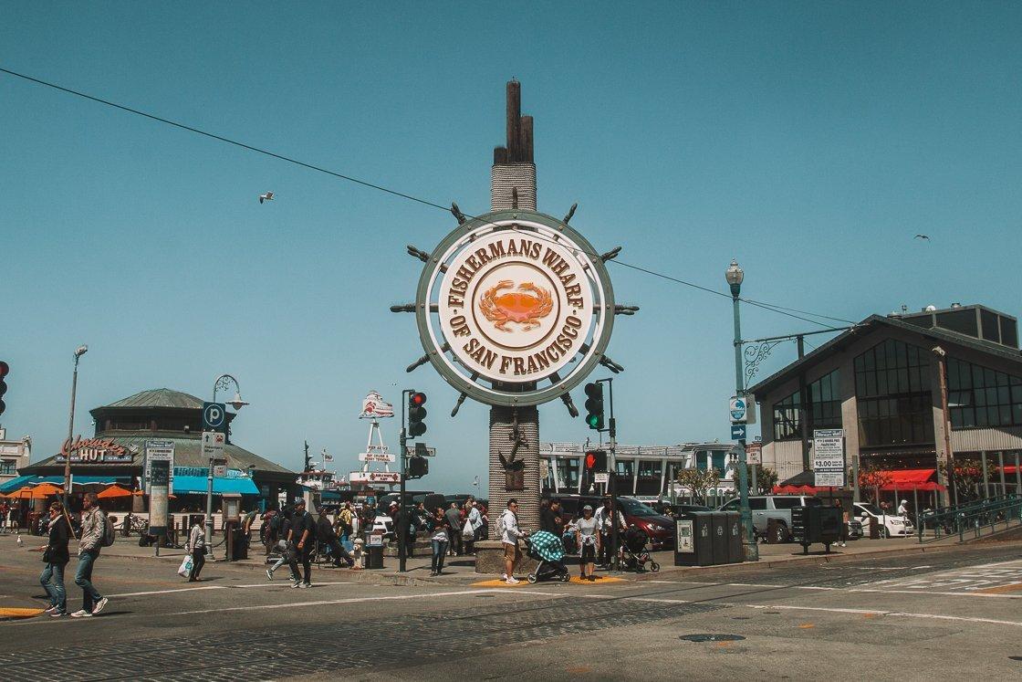 Fisherman's Wharf San Francisco, 2-week US itinerary