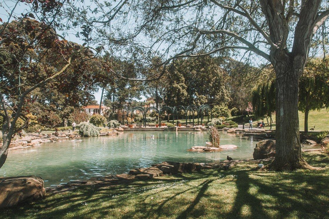 Presidio park, San Francisco, 2-week US itinerary with no car