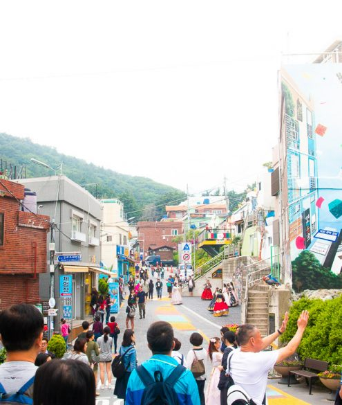 Gamcheon Cultural Village, Busan, South Korea