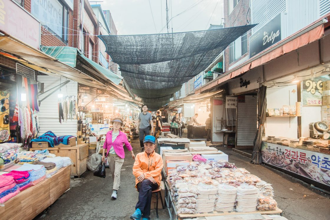 Gukje Market, Busan, South Korea