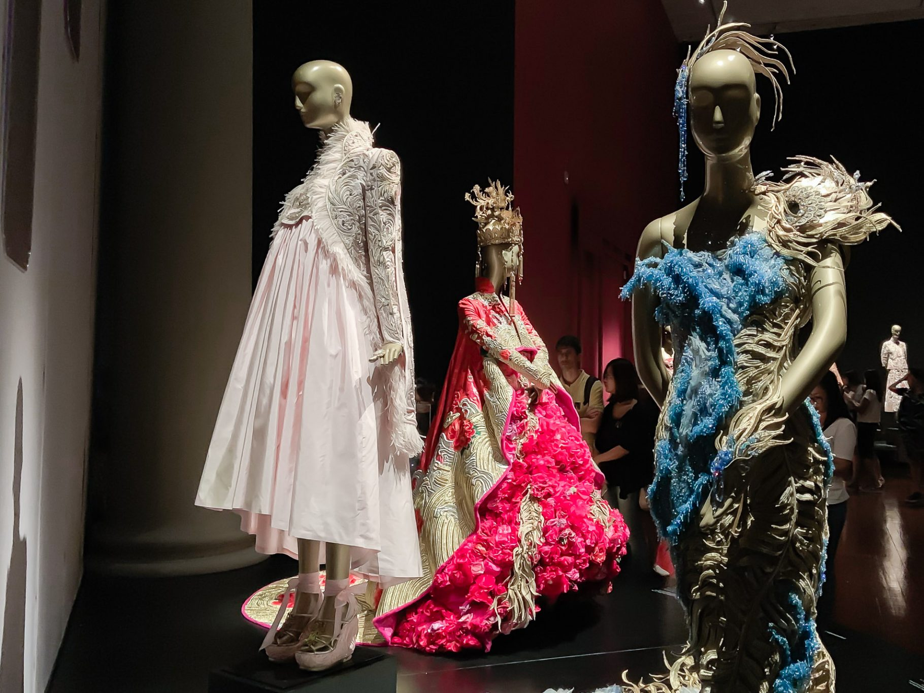 Guo Pei: Chinese Art and Couture Exhibition at Singapore's Asian Civilisations Museum