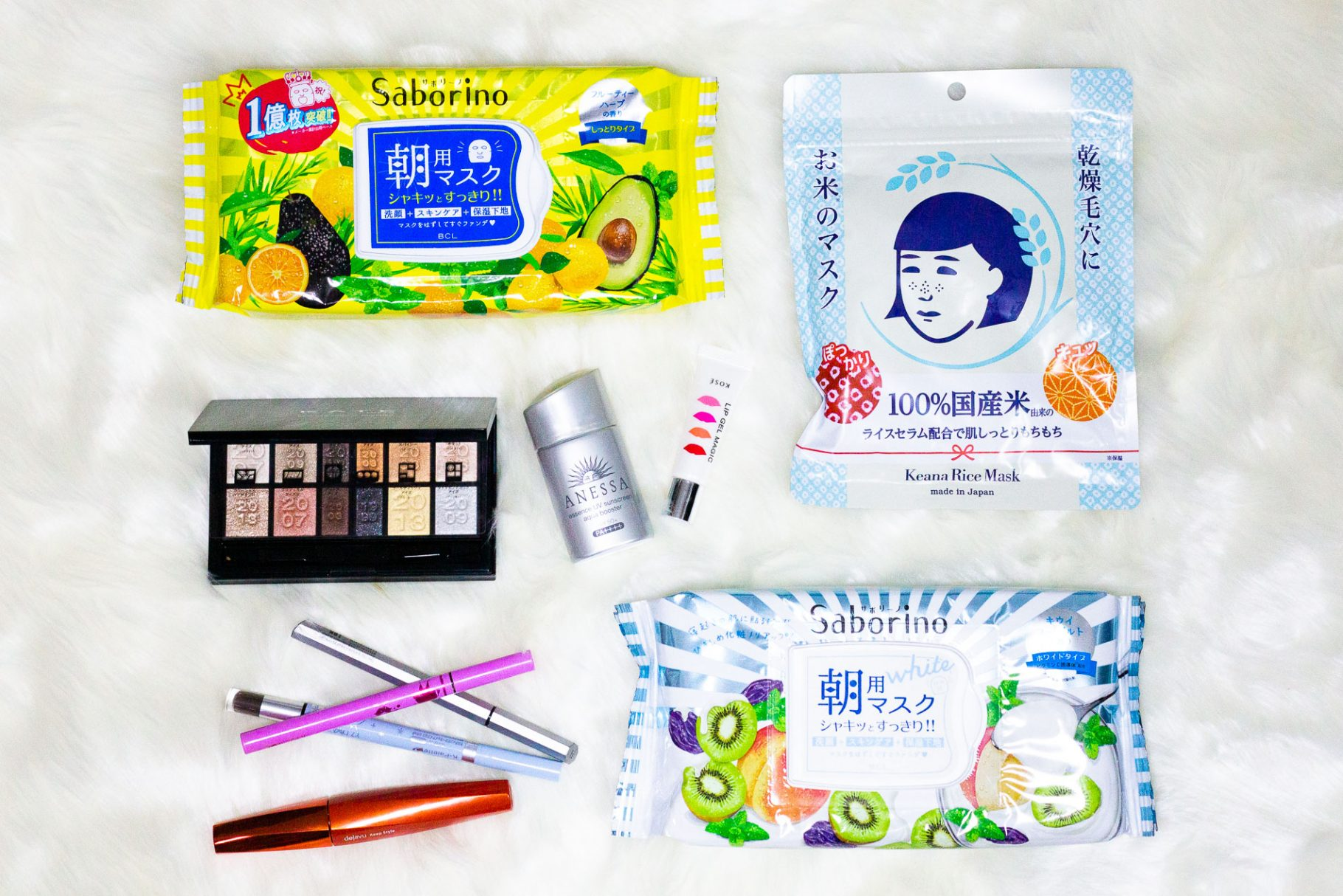 Favourite beauty products from Japanese drugstores in 2020